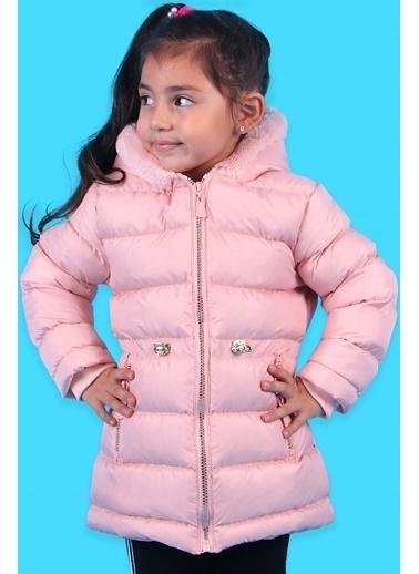 Breeze Breeze Fermuarlı Cep Pudra Kız Çocuk Mont (3 Yaş) Pudra